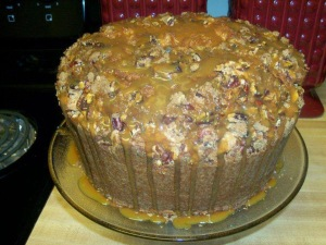 Marvin Williams' Pecan Pie Pound Cake