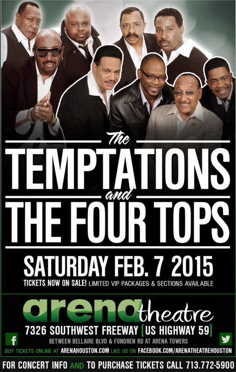12215_ARENA THEATER FLYER - TEMPS & 4TOPS