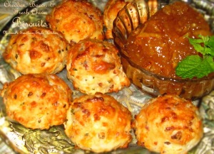 Cheddar Bacon & Fresh Chive Biscuits 002