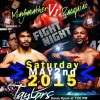 Taylor's Fight Party Flyer
