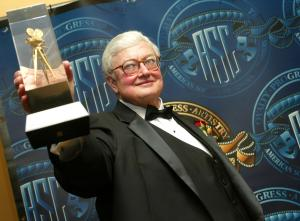 FILE PHOTO Ebert To Receive Radiation treatment For Cancer