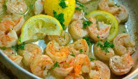 lemon garlic-shrimp