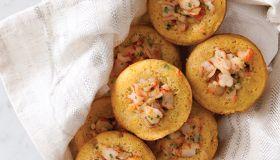 Shrimp Cornbread Muffins