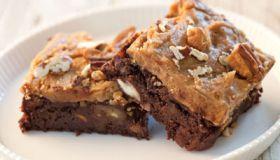 Sweet Potato Praline Brownies Recipe