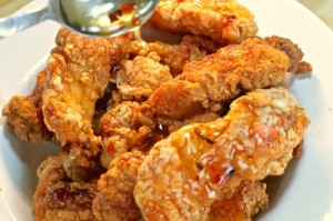 Crispy Honey Pepper Chicken Strips