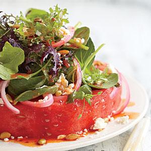 """Recipes » Watermelon """"Steak"""" Salad Watermelon """"Steak"""" Salad"""