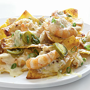 Shrimp and Crab Nachos