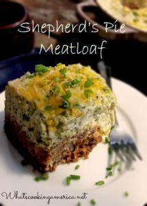 Shepherd's Pie Meatloaf