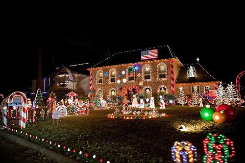Prestonwood Forest lights