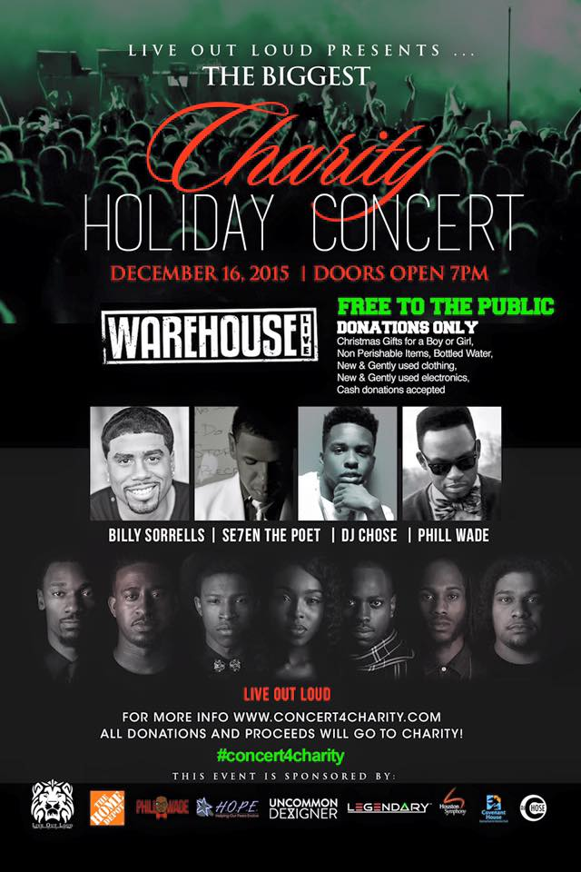 2015 Charity Holiday Concert