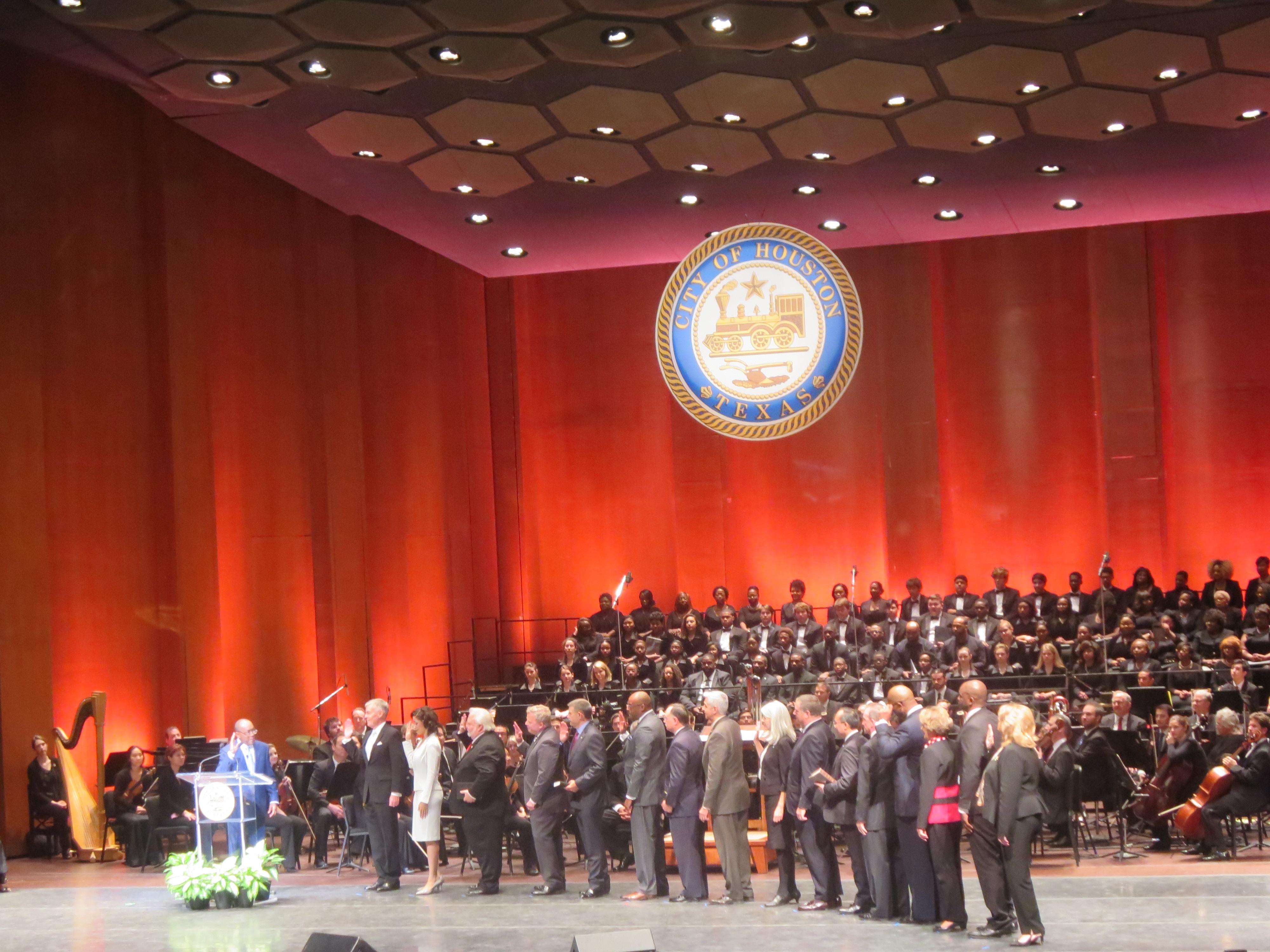 2016 Houston Mayoral Inauguration