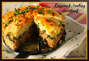 Layered Turkey Meatloaf