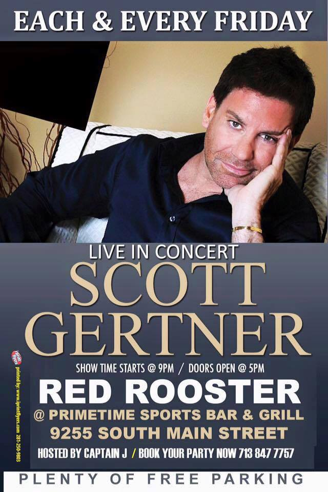 Scott Gertner at the Red Rooster