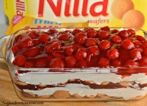 Cherry Cheesecake Cookie Lasagna