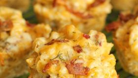 Ranch Bacon Mac and Cheese Cups