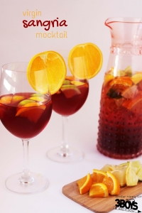 Virgin Sangria Mocktail Recipe