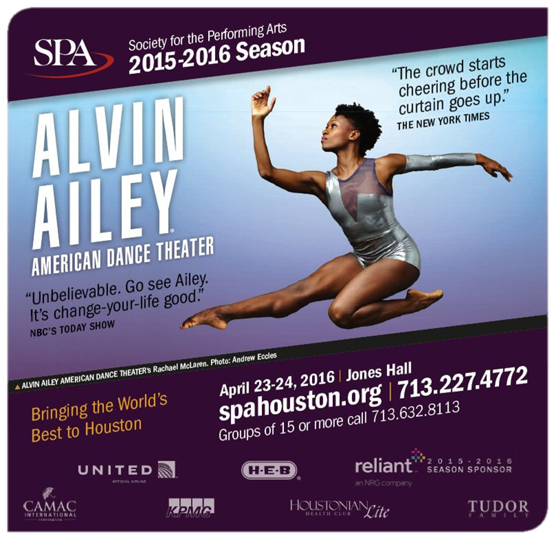 Society of Performing of Arts Houston
