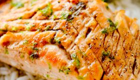 Brown Butter and Lime Salmon