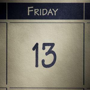 friday the 13th on a calendar