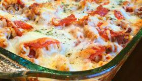 Easy Cheesy Pizza Pasta