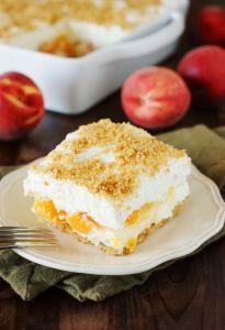 Easy No-Bake Peach Yum Yum