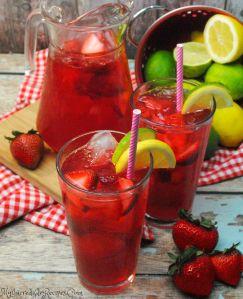 Southern Strawberry Sweet Tea