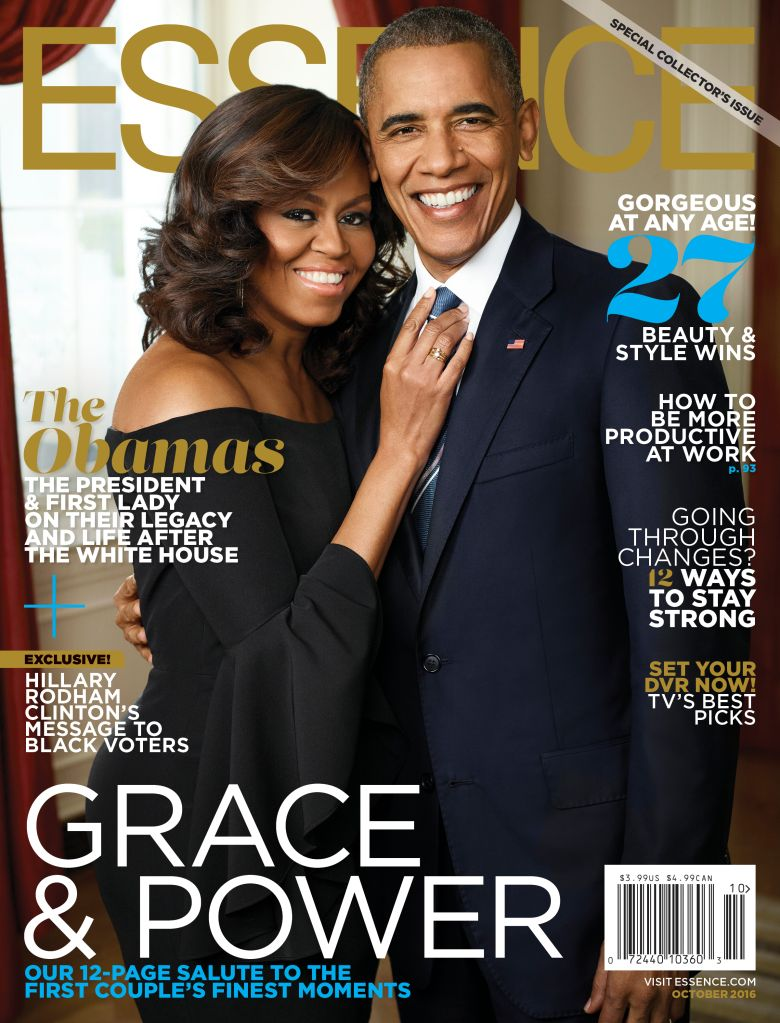 Barack & Michelle Essence Cover