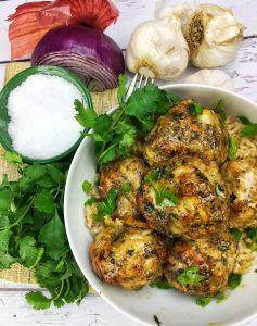 Chicken & Parmesan Meatballs