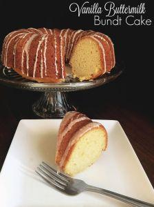 Vanilla Buttermilk Bundt Cake