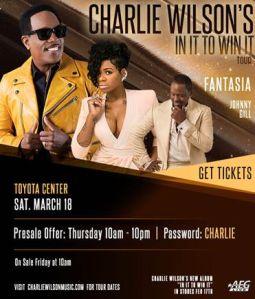 Charlie Wilson Tour