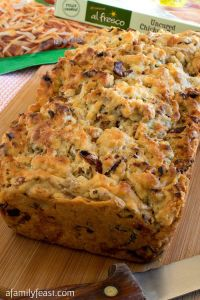 Bacon and Hash Browns Breakfast Bread
