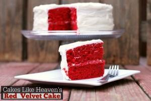Cakes Like Heaven's Red Velvet Cake