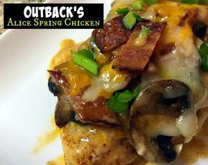Outback Steakhouse Alice Spring's Chicken