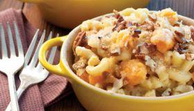 Cheesy Sweet Potato Mac