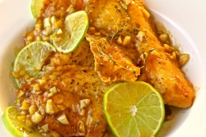 Lime & Garlic Tilapia