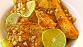 Lime & Garlic Tilapia