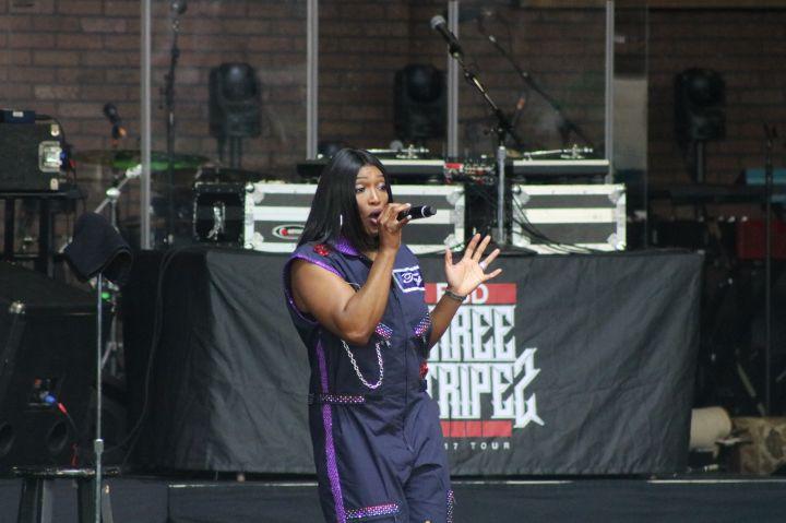 SWV Performing at Majic Summer Block Party
