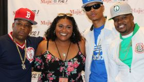 Majic Summer Block Party: Bell Biv DeVoe Meet & Greet [PHOTOS]