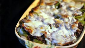 Philly Cheese Steak Stuffed Bell Peppers