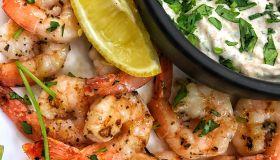 Lemon Oregano Grilled Shrimp