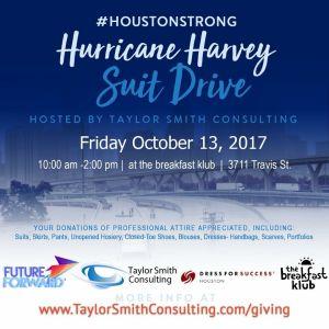 Hurricane Harvey Suit Drive