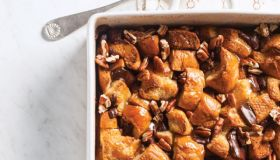 Chocolate Po' Boy Bread Pudding