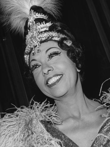 Singer Josephine Baker, 1964