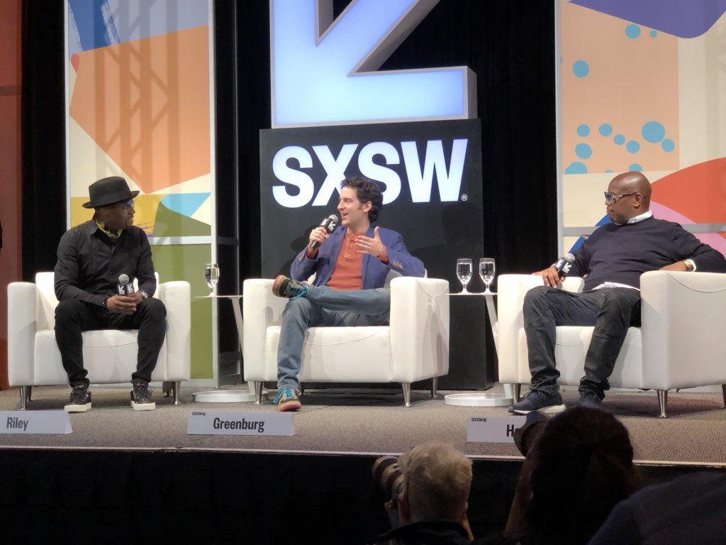 Teddy Riley / Andre Harrell At SXSW