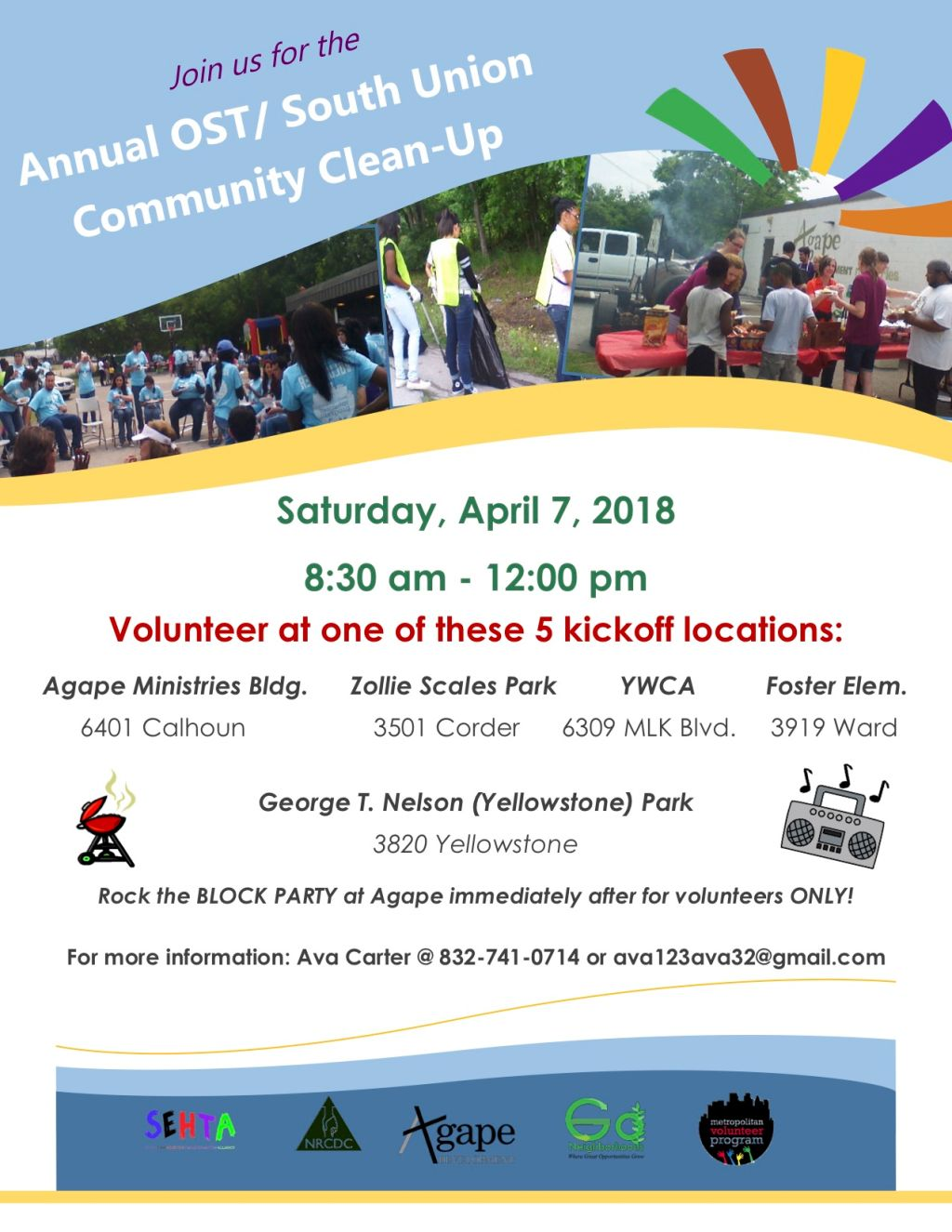 OST / South Union Community Clean Up