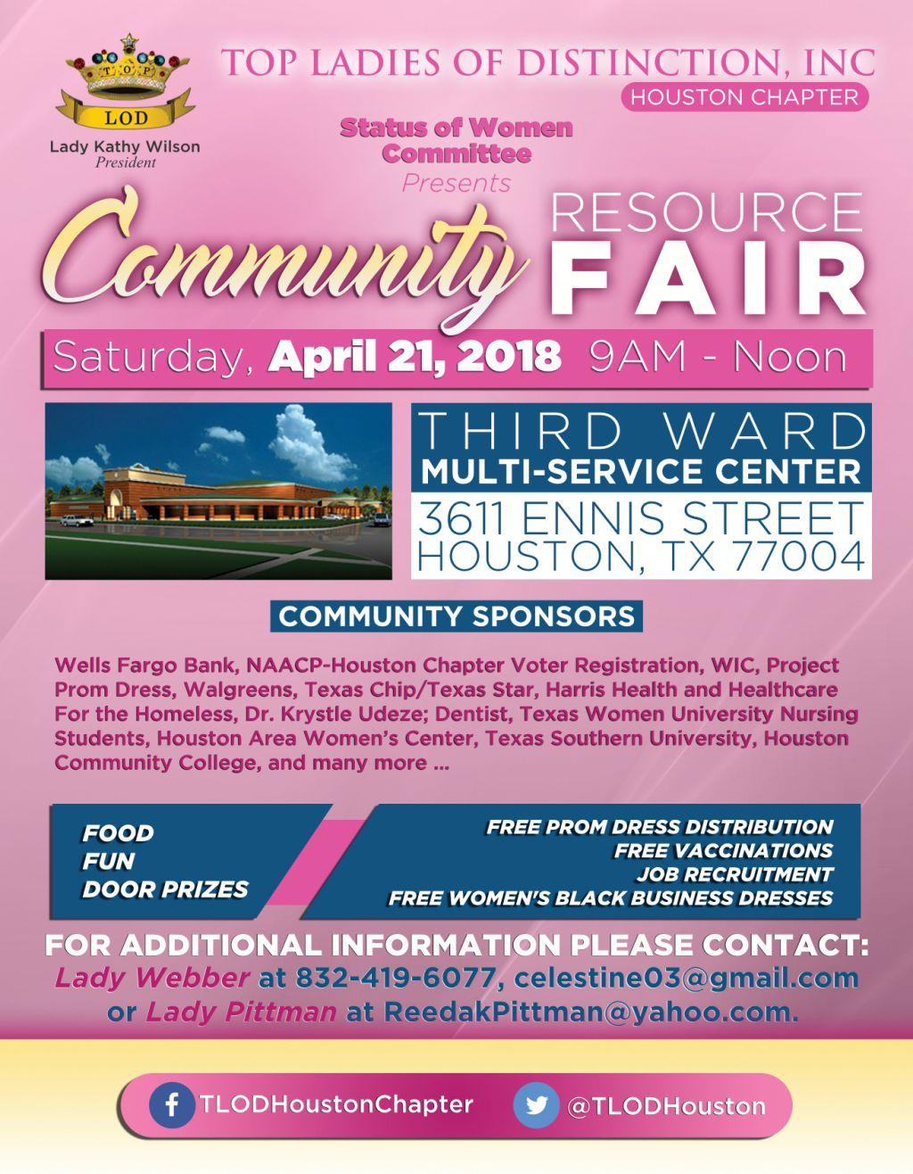 TLOD Community Resource Fair