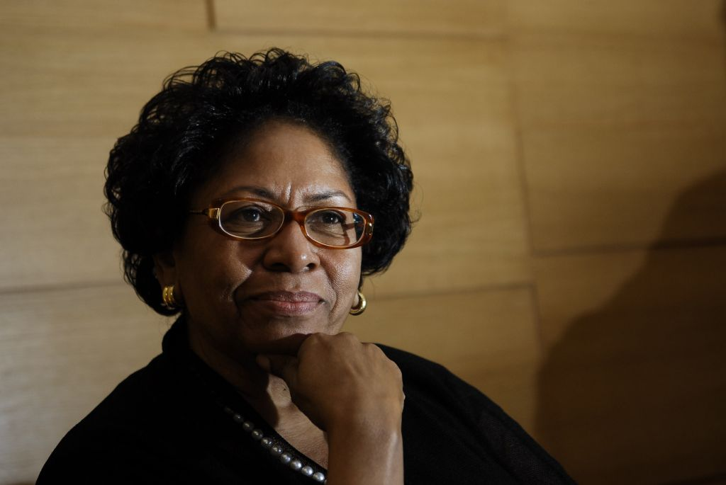 Profile shoot of Ruth J Simmons - President Of Brown University Of America