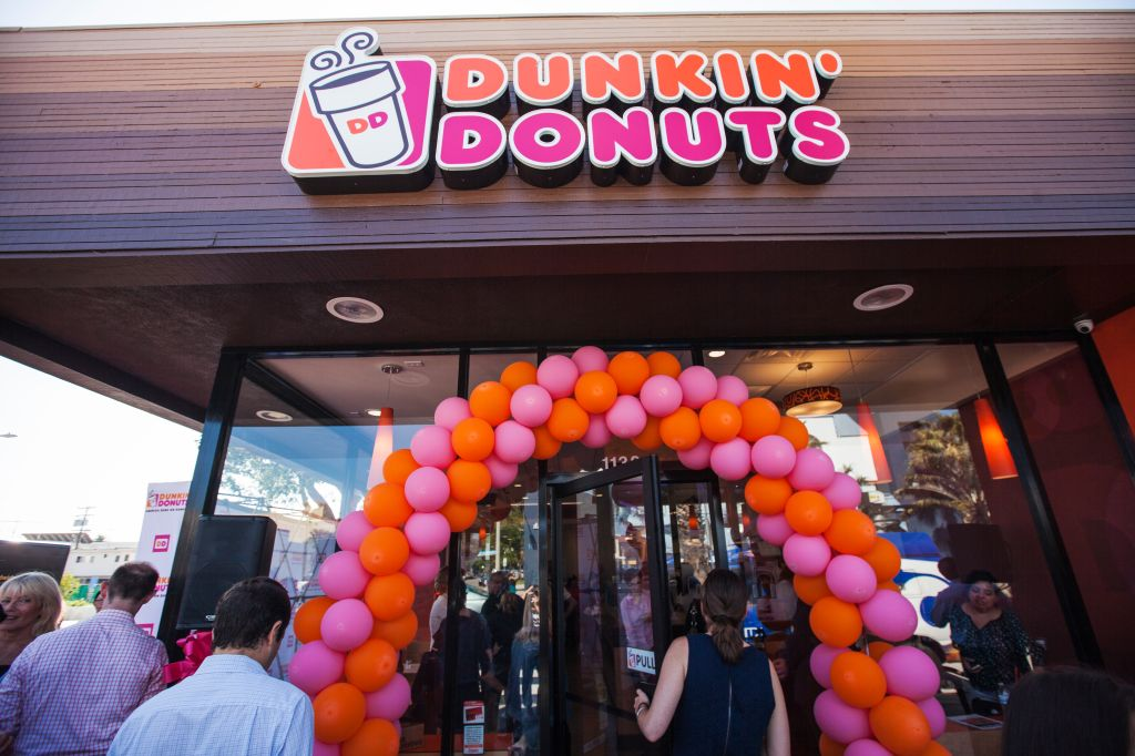 Dunkin' Donuts Opens in Santa Monica