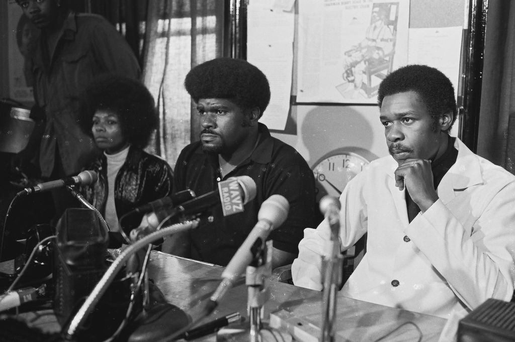 Black Panther Party Press Conference
