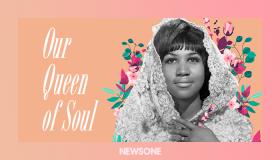 Aretha Franklin digital illustration